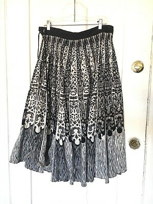 Mexican Circle Skirt Size 32 Waist Rockabilly VLV Vintage Style