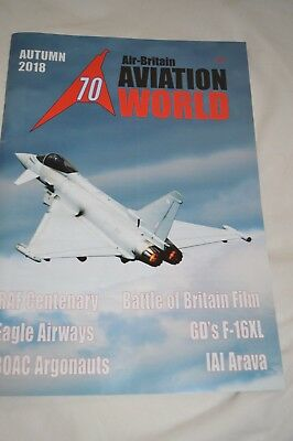 Air Britain Aviation World  autumn 2018