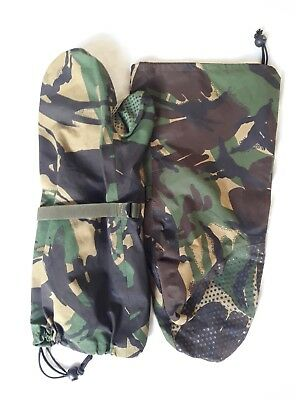 NEW British Army-Issue DPM Gore Tex ECW Outer Mittens. Large