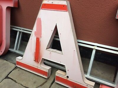 Reclaimed Salvaged Letter A