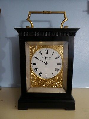 English Fusee Carriage clock by E J Dent
