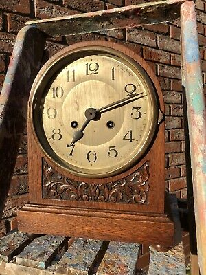 Large antique bracket clock
