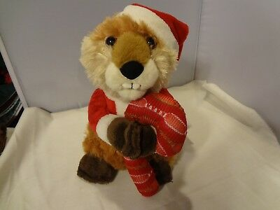 Avon 2012 Zack The Holiday Singing Beaver -Works Great - Batteries Inc. Animated