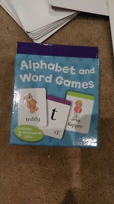 Oxford Reading Biff Chip and Kipper Alphabet and Word Game Flash Cards