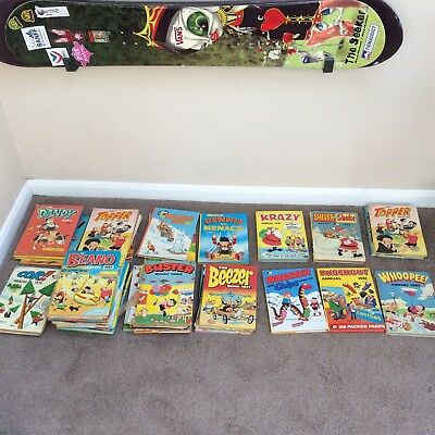 Comic Book Annuals - 1975 to 1992 - Beano, Dandy, Buster