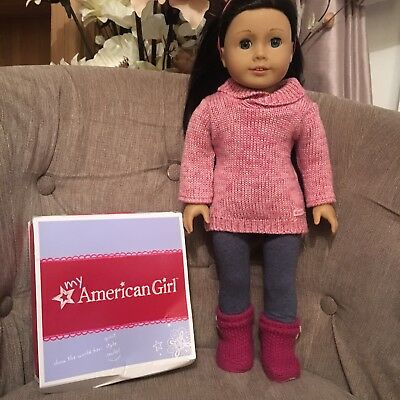 American Girl Cozy Sweater Outfit Doll Clothing Set Boxed VGC