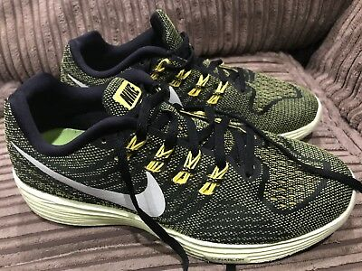 huge selection of ad2d2 ea435 WOMENS NIKE LUNARTEMPO 2 Yellow Black Trainers UK 6 Euro 40