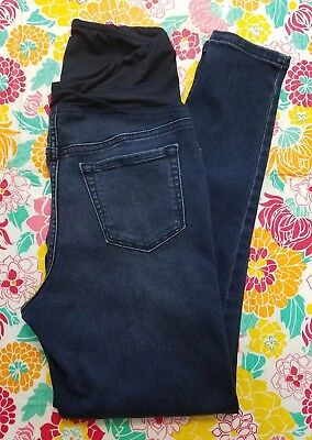 Isabel Maternity Over The Belly Size 4 Jeggings Jeans Dark Wash