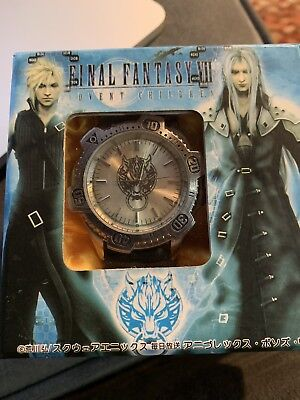 Final Fantasy VII Advent Children Watch Japanese Import Collectible RARE