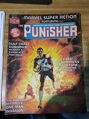 Marvel Super Action Featuring Punisher