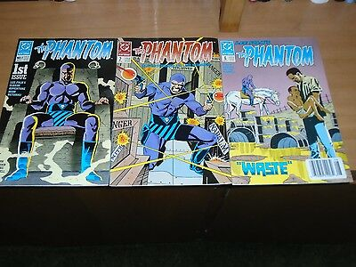 The Phantom 1 2 6 DC Comics Ghost who walks Luke McDonnell Jungle lee Falk