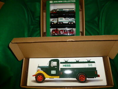 2018 Hess 85th Anniversary Collector's Edition  & 2018 Mini Collection
