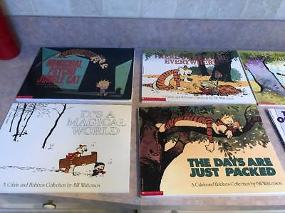 Calvin and Hobbes Collection by Bill Watterson Comics 15 Books!!!!