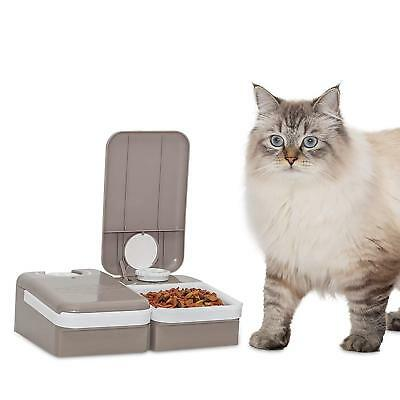 PetSafe Eatwell 2 Meal Timed Automatic Dog and Cat Feeder, Dispenses Pet Food