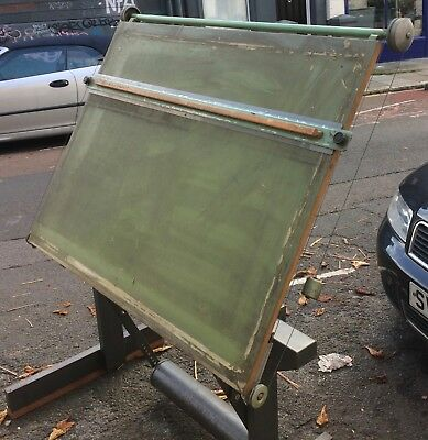 Larger than A0 Vintage Architect Drawing Draftsman Board Table Parallel Motion