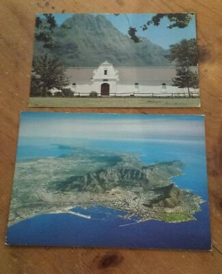 Postcards Cape Peninsula South Africa & Boer Homestead 70s vintage Post Cards