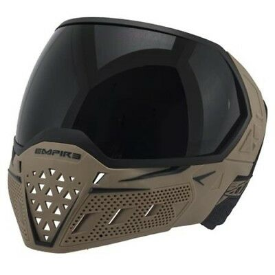 Paintball Maske Empire EVS Goggle - Black /Tan Thermal Clear