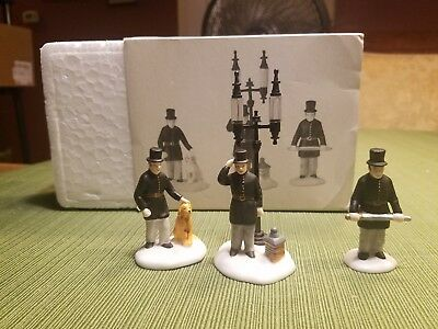 Dept 56 Heritage Village Collection Constables #55794 Set of 3