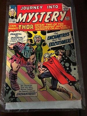 JOURNEY INTO MYSTERY #103 RARE 1st APPEARANCE OF ENCHANTRESS!!!!