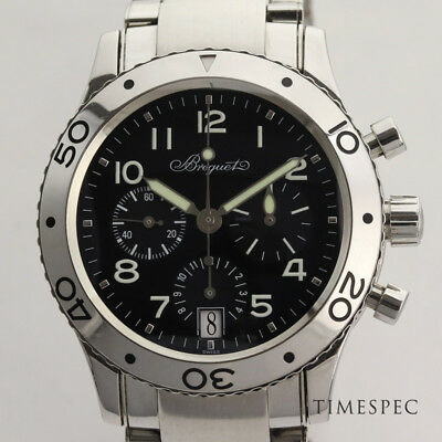 Breguet Type XX 39 mm Automatic Chrono with Box & Papers