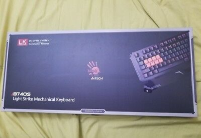 Bloody B740S Light Strike LK Optical Mechanical Gaming Keyboard RGB