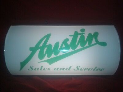 austin,rover,bl,bmc,light up sign,classic,mancave,vintage style,gift,seven,nippy