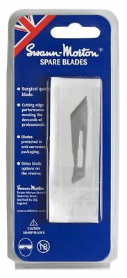 5 x Genuine Swann Morton No 25 Blades For No.4 Handles in Gift / Retail Pack UK