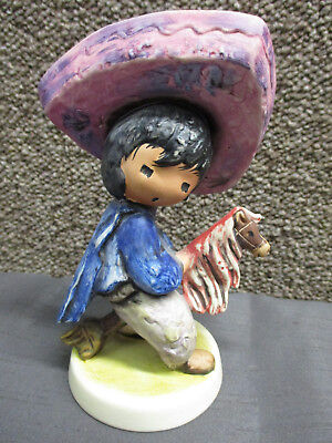 Degrazia My First Horse 1983 Goebel Signed Figurine #10 312