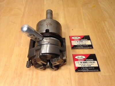 Cleveland Geometric Threading Die Head Size 102 Style DMS With Chasers