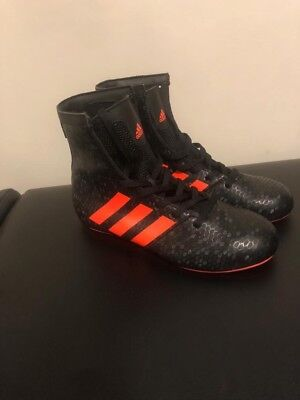 Adidas KO Legend 16.2 Junior Boxing / Wrestling Boots size 2 Black/Orange