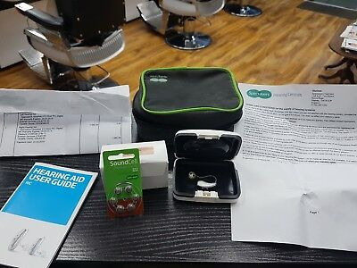 Advance RIC hearing aid from specsaversWith News Batteries And Case - Left Ear