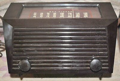Vintage RCA Victor Table Tube Radio Model 9-X-641 FREE SHIPPING