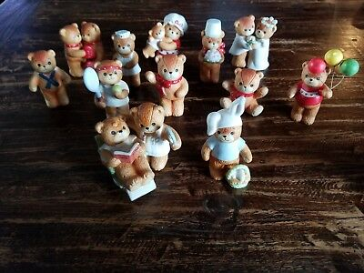 Lot Of 12 Vintage Enesco Lucy And Me Bears