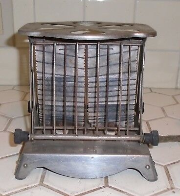 ANTIQUE VINTAGE 1920s 30s ELECTRIC TOASTER WESTINGHOUSE TURNOVER UNTESTED AS IS