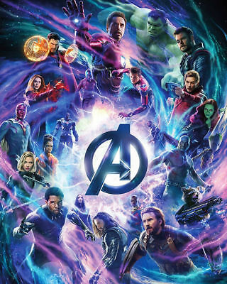Art Avengers Infinity War 2018 Poster 20x30 24x36 Movie P212
