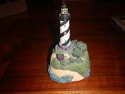 Outer Banks NC Cape Hatteras Lighthouse With Light And Sound