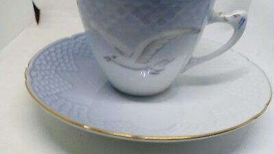 Danish B & G Danish Copenhagen 463 Seagull Cup And Saucer In Beautiful Condition