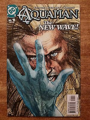 """Aquaman #1 """"The New Wave""""; DC (2003); First Printing"""