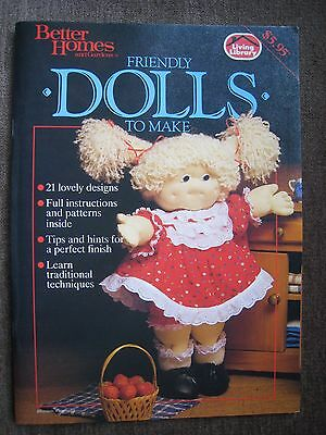 Better Homes and Gardens FRIENDLY DOLLS TO MAKE