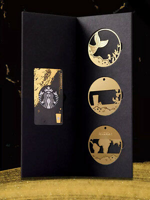 CS1884 2018 China Starbucks Coffee 20th Anniversary Special Edition MSR card set