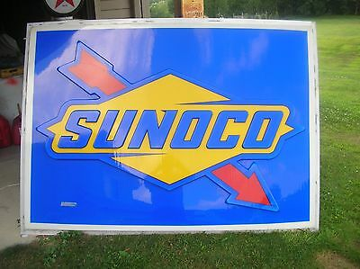 Sunoco  Gas Sign Oil Sign