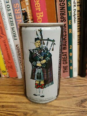 Piper Extra Export 333ml Flat Top Beer Can Highland Brigad Scottish Guard