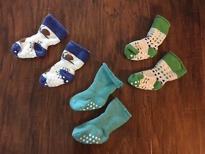 Hanna Andersson Best Ever First Set of 3 Pairs Size 1-2