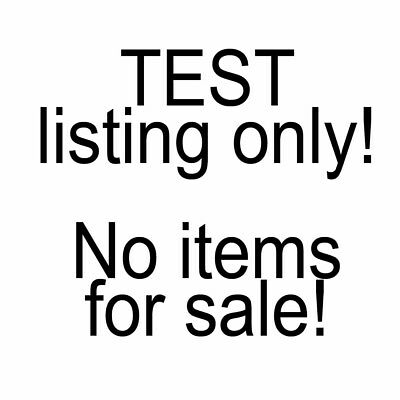Test Item #6 - Do Not Buy - Nothing For Sale - Testing