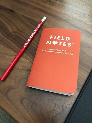 Field Notes Notebook Valentines Day Heart Edition