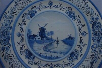 "Judy Diephouse/Lynne Deptula tole pattern ""Delft Plate"""