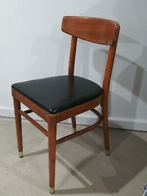 Vintage Mid Century Thonet Bentwood Dining Chair RARE One Park Ave New York