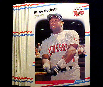 Kirby Puckett  ~ 1988 Fleer #19 ~ LOT OF 20 CARDS ~~~~~~~~~ AT A VERY LOW PRICE!