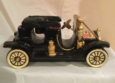 Rare Old Sippin' Whiskey Decanter 1910 Ford