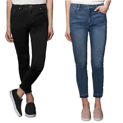 Kenneth Cole New York Women's Jess Skinny Mid-Rise Ankle Jeans